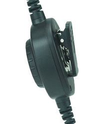 Detachable Coil Cable with inline PTT MHS3T, MHS5T, MHS7T and MHS9T Headsets